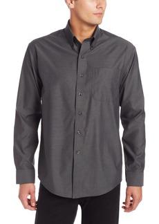 Cutter & Buck Men's Big-Tall Epic Easy Care Royal Oxford Shirt  X-Large/Tall