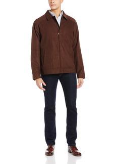 Cutter & Buck Men's Big-Tall Microsuede Roosevelt Jacket  3XLT
