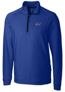 Cutter & Buck Men's Buffalo Bills Jackson Half-Zip Pullover