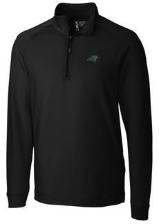 Cutter & Buck Men's Carolina Panthers Jackson Half-Zip Pullover