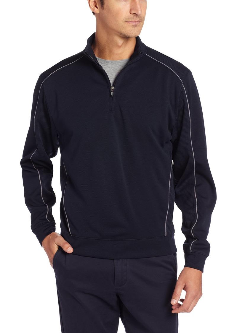 Cutter & Buck Men's CB Drytec Edge Half Zip Sweatshirt