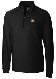 Cutter & Buck Men's Cincinnati Bengals Jackson Half-Zip Pullover