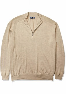 Cutter & Buck Men's Douglas Quarter-Zip Sweater