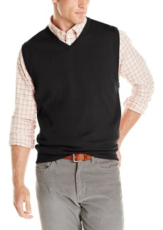 Cutter & Buck Men's Douglas V-Neck Sweater Vest  X-large