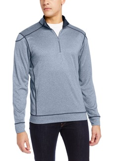 Cutter & Buck Men's Drytec Green Lake Half Zip Sweater