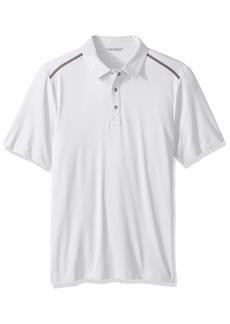 Cutter & Buck Men's Drytec Moisture Wicking UPF 50+ Active Fusion Polo Shirt