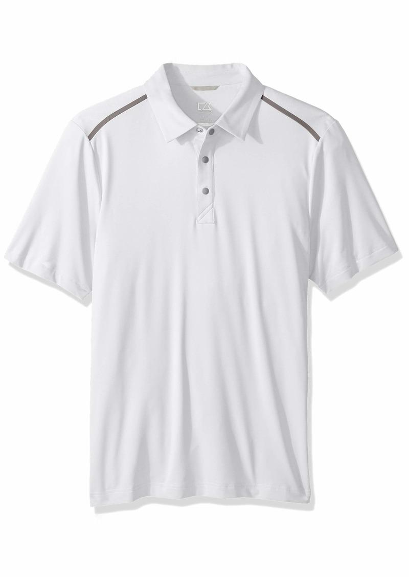 Cutter & Buck Men's Drytec Moisture Wicking UPF 50+ Active Fusion Polo Shirt  XXXLarge