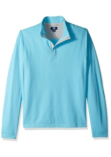 Cutter & Buck Men's Hewitt Lightweight Honeycomb Textured Half-Zip Sweatshirt