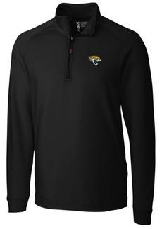 Cutter & Buck Men's Jacksonville Jaguars Jackson Half-Zip Pullover