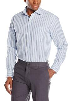 Cutter & Buck Men's Long Sleeve South Hampton Stripe Shirt