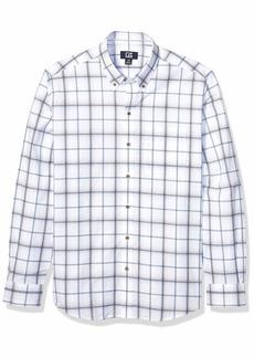 Cutter & Buck Men's Long Sleeve Tidal Check Shirt
