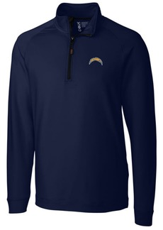 Cutter & Buck Men's Los Angeles Chargers Jackson Half-Zip Pullover