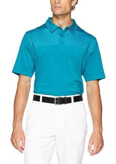 Cutter & Buck Men's Moisture Wicking Drytec 50+ UPF Kevin Print Polo Shirt  XXX Large