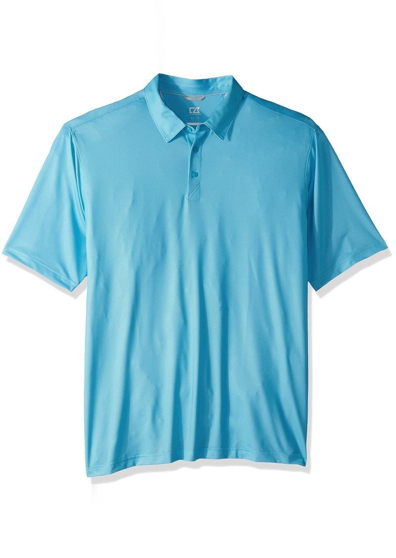 Cutter & Buck Men's Moisture Wicking Drytec UPF 50 Jersey Polo Shirt   Big