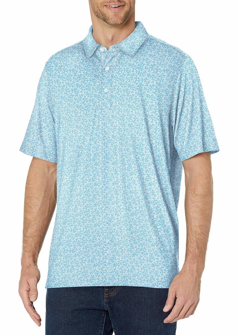 Cutter & Buck Men's Moisture Wicking Drytec UPF 50 Jersey Polo Shirt