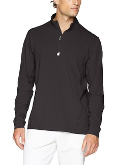 Cutter & Buck Men's Moisture Wicking Drytec UPF 50+ Traverse Half Zip Pullover