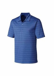 Cutter & Buck Men's Moisture Wicking Melange Stripe Interbay Polo Shirt