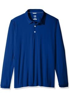 Cutter & Buck Men's Moisture Wicking UPF 50+ Belmont Long Sleeve Polo Shirt  XXX-Large