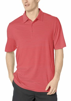 Cutter & Buck Men's Moisture Wicking UPF Drytec Forge Pencil Stripe Polo Shirt  XXX-Large