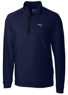 Cutter & Buck Men's New England Patriots Jackson Half-Zip Pullover