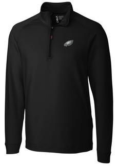 Cutter & Buck Men's Philadelphia Eagles Jackson Half-Zip Pullover