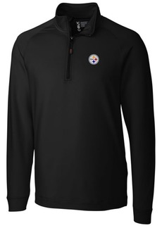 Cutter & Buck Men's Pittsburgh Steelers Jackson Half-Zip Pullover