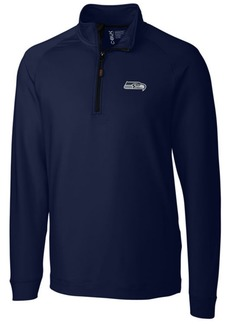 Cutter & Buck Men's Seattle Seahawks Jackson Half-Zip Pullover