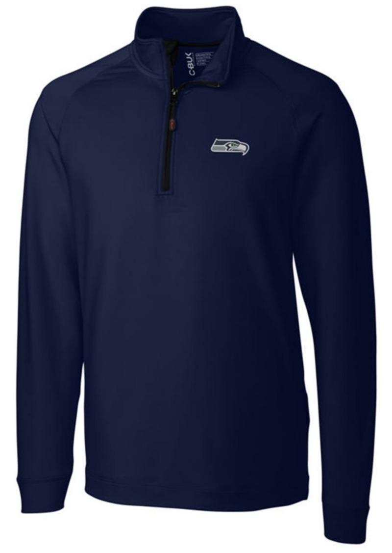 Cutter & Buck Men's Seattle Seahawks Jackson Half-Zip Pullover