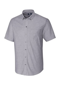 Cutter & Buck Men's Short Sleeve Stretch Oxford
