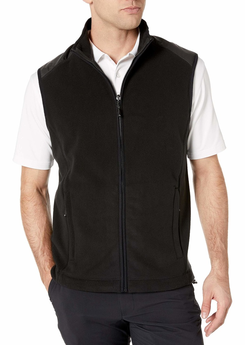 Cutter & Buck Men's Spark Systems Cedar Park Full-Zip Performance Fleece Vest