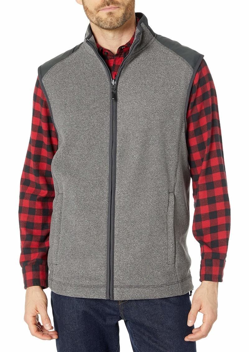 Cutter & Buck Men's Spark Systems Cedar Park Full-Zip Performance Fleece Vest