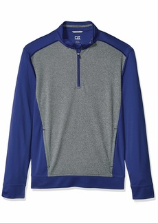 Cutter & Buck Men's Water Repellent 50+ UPF Replay 1/2 Zip Pullover