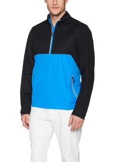 Cutter & Buck Men's Waterproof Packable Fairway Long Sleeve Half Zip Pullover  XXX Large