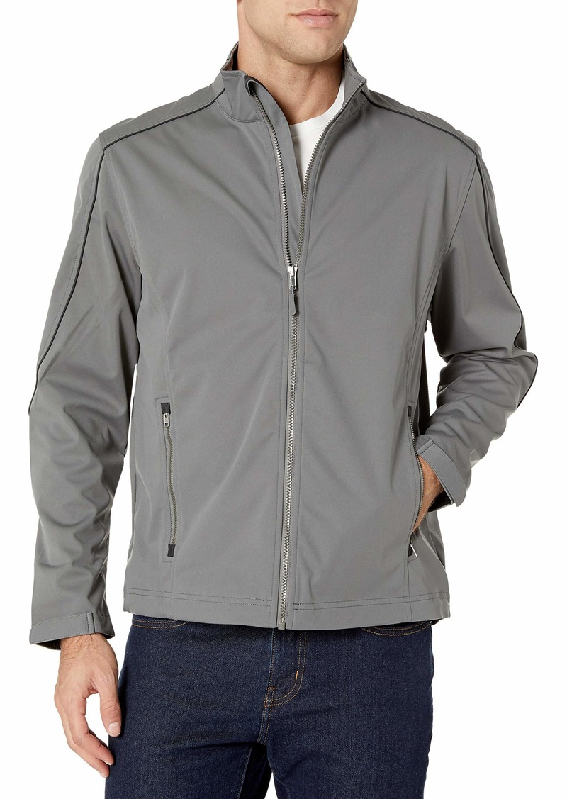 Cutter & Buck Men's Weather Resistant Midweight Softshell Opening Day Jacket