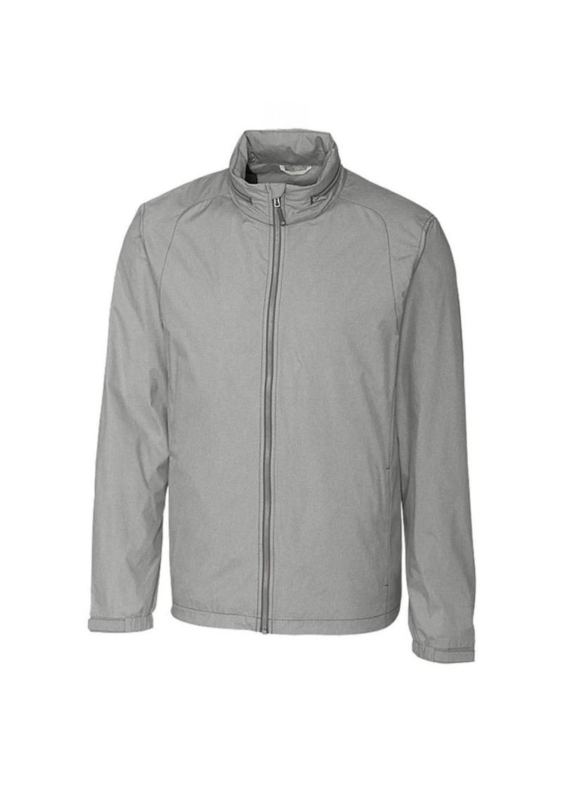 Cutter & Buck Men's Weathertec Packable Weather Resistant Panoramic Hood Jacket