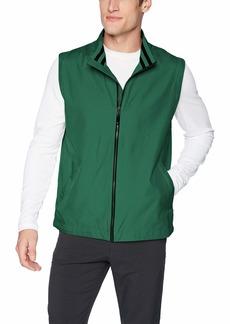 Cutter & Buck Men's Weathertec Water Resistant Lined Nine Iron Full Zip Vest  XLarge