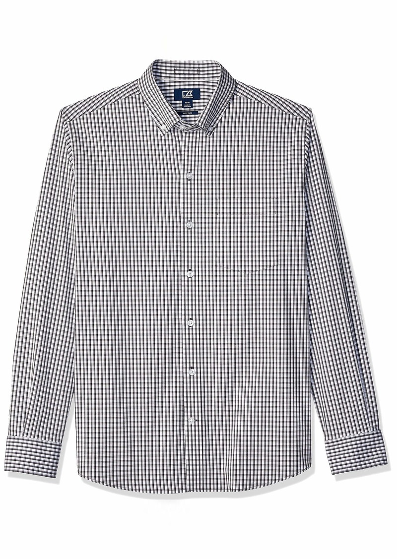 Cutter & Buck Men's Wrinkle Resistant Stretch Long Sleeve Button Down Shirt  XXLarge