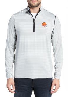 Cutter & Buck Meridian - Cleveland Browns Regular Fit Half Zip Pullover