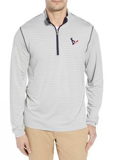 Cutter & Buck Meridian - Houston Texans Regular Fit Half Zip Pullover