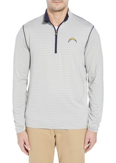 Cutter & Buck Meridian - Los Angeles Chargers Regular Fit Half Zip Pullover