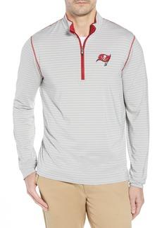 Cutter & Buck Meridian - Tampa Bay Buccaneers Regular Fit Half Zip Pullover