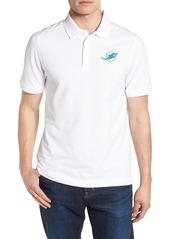 Cutter & Buck Miami Dolphins - Advantage Regular Fit DryTec Polo