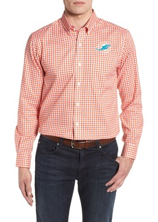 Cutter & Buck Miami Dolphins - League Regular Fit Sport Shirt