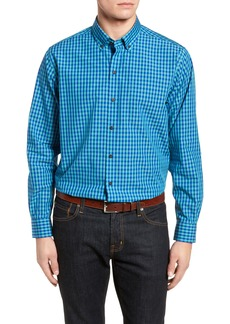 Cutter & Buck Myles Classic Fit Non-Iron Gingham Sport Shirt