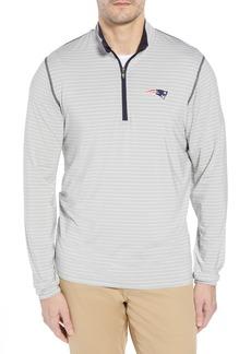Cutter & Buck New England Patriots - Meridian Half Zip Pullover