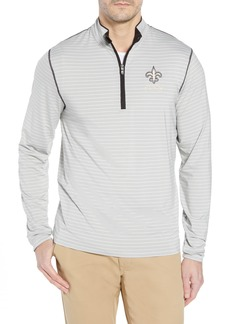 Cutter & Buck New Orleans Saints - Meridian Half Zip Pullover