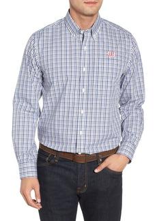 Cutter & Buck New York Giants - Gilman Regular Fit Plaid Sport Shirt