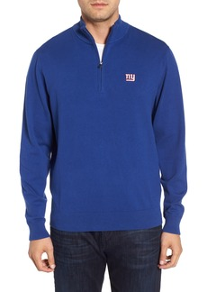 Cutter & Buck New York Giants - Lakemont Regular Fit Quarter Zip Sweater
