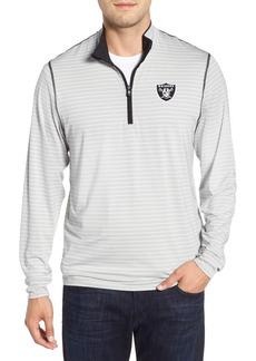 Cutter & Buck Oakland Raiders - Meridian Half Zip Pullover