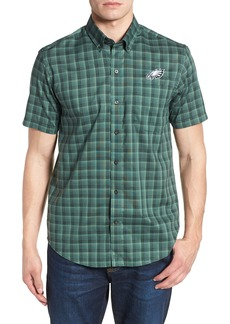 Cutter & Buck Philadelphia Eagles - Fremont Regular Fit Check Sport Shirt
